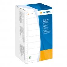 , Etiket Herma 8292 147.3x99.2mm 1-baans wit 3000stuks