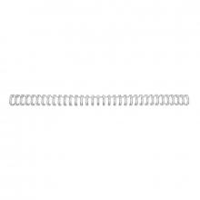 , Draadrug GBC 14.3mm 34-rings A4 zilver 100stuks