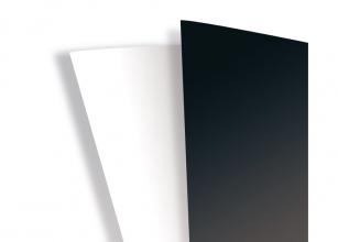 , Voorblad GBC A4 PVC 25x Hiclear en 25x Higloss wit