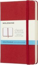 , Moleskine Dotted Notebook Pocket Scarlet Red