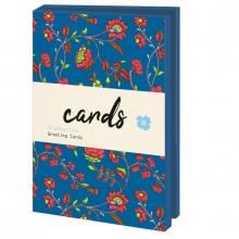 Lmc349 , Notecards 10 stuks 13x18 bloemenpapier smb