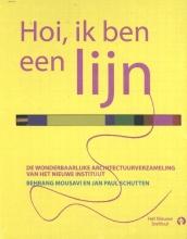 Annemiek Snelders Behrang Mousavi  Jan Paul Schutten  Hanna Piksen, Hoi, ik ben een lijn + Hoi, jij bent een ontwerper (doeboek)