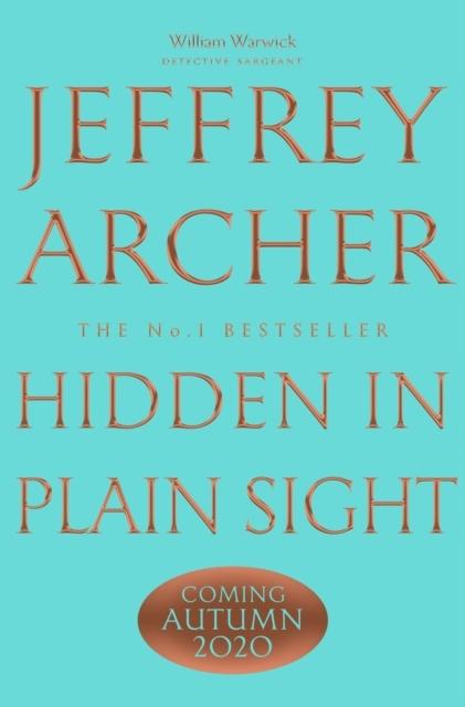Jeffrey Archer,Hidden in Plain Sight
