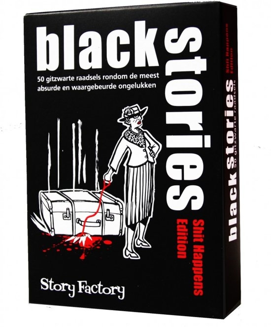 Stf-sh,Black stories shit happens
