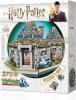 <b>W3d-0512</b>,Puzzel 3d - hagrid`s hut- harry potter - wrebbit  270 stuks
