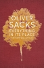<b>Sacks Oliver</b>,Everything in Its Place