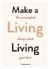 Nina  Karnikowski, Make a Living Living