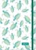 , Agenda compact  2021 16 mnd 12.7x17.8 cm schildpadden turtels