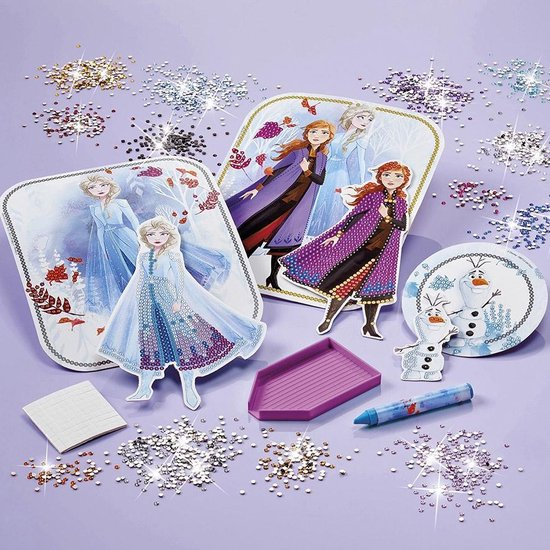 ,Knutselset Totum Disney Frozen 2 diamond painting