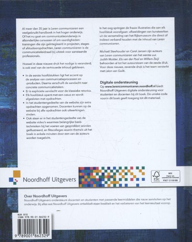 Michaël Steehouder, Carel Jansen, Léon van Gulik, Judith Mulder, Els van der Pool, Willem Zeijl,Leren communiceren