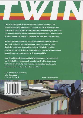 Poorthuis,TWIN Beroepsgerichte natuurkunde 2 B&W Leerlingenboek