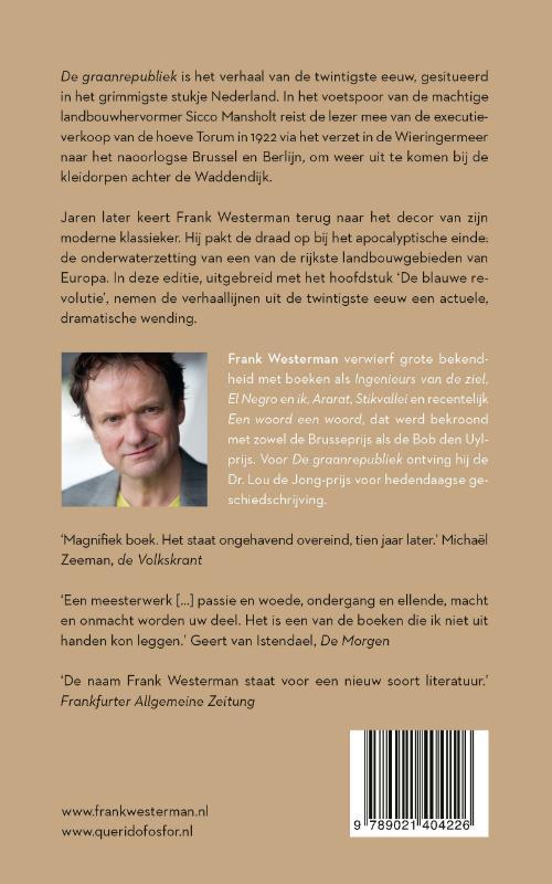 Frank Westerman,De graanrepubliek