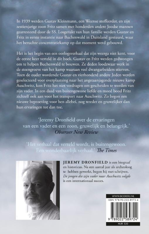 Jeremy Dronfield,De jongen die zijn vader naar Auschwitz volgde