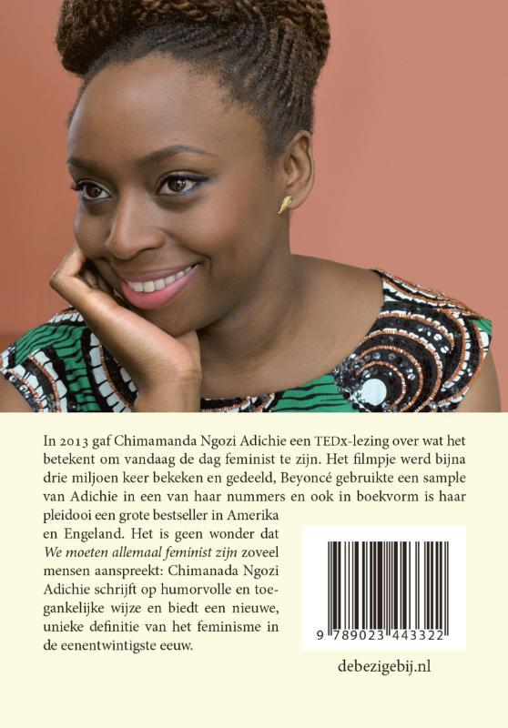 Chimamanda Ngozi Adichie,We moeten allemaal feminist zijn