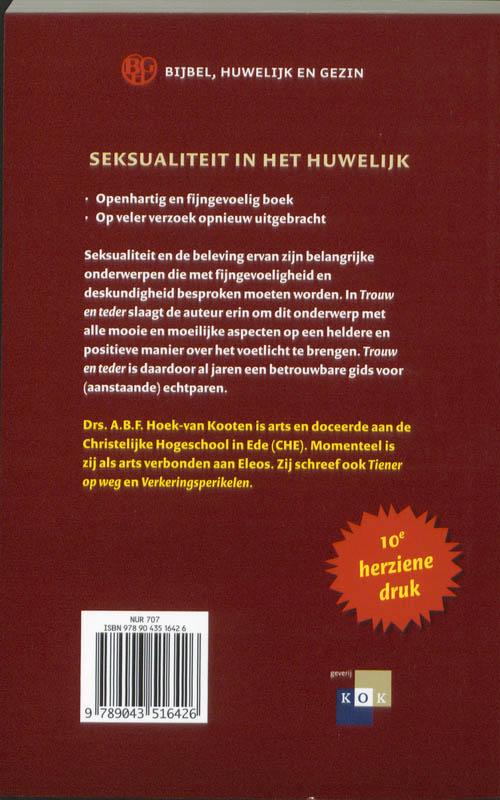 A. Hoek-van Kooten,Trouw en teder