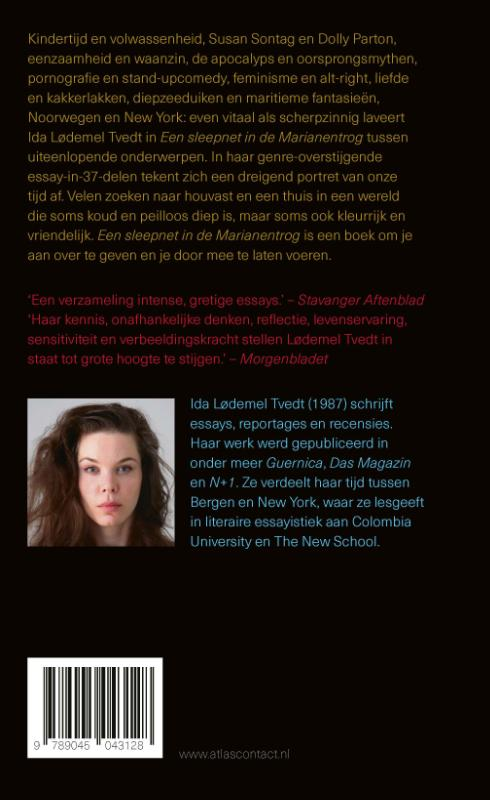 Ida Lødemel Tvedt,Een sleepnet in de Marianentrog