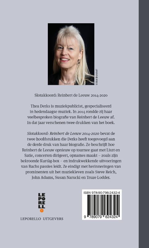 Thea Derks,Slotakkoord