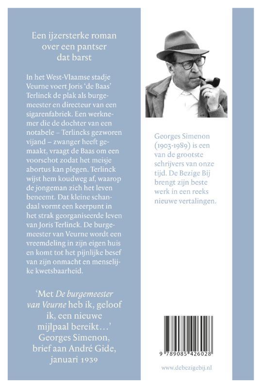 Georges Simenon,De burgermeester van Veurne