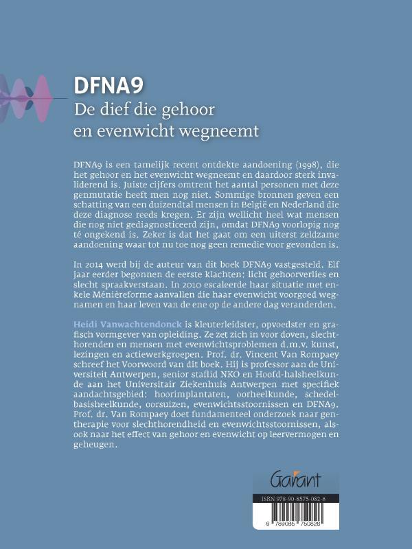 Heidi Vanwachtendonck,DFNA9