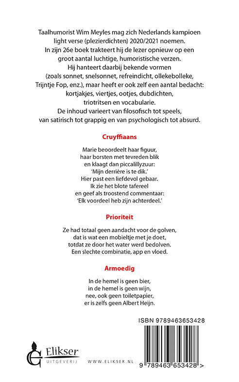Wim Meyles,Driemaal daags een vers
