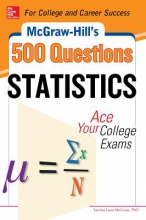 McCune, Sandra Luna, Ph.D. McGraw-Hill`s 500 Statistics Questions