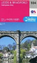 Ordnance Survey,Leeds & Bradford, Harrogate & Ilkley