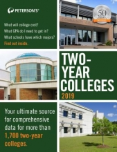 Peterson`s Two-Year Colleges 2019