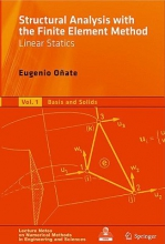 Eugenio Onate Structural Analysis with the Finite Element Method. Linear Statics