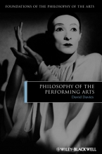 Davies, David Philosophy of the Performing Arts