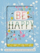Be Happy Boxed Notecards
