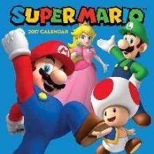 Nintendo Super Mario 2017 Wall Calendar