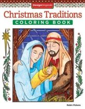 Pickens, Robin Christmas Traditions Coloring Book