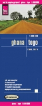 , Reise Know-How Landkarte Ghana, Togo 1 : 600.000