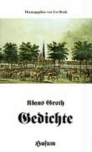 Groth, Klaus Gedichte
