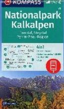 , Nationalpark Kalkalpen, Ennstal, Steyrtal, Pyhrn-Priel-Region 1:50 000
