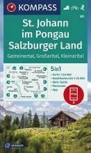 , St. Johann im Pongau, Salzburger Land 1:50 000