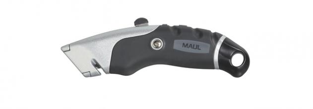, Veiligheidsmes MAUL Expert snijmes 18mm incl. 5 reservemessen