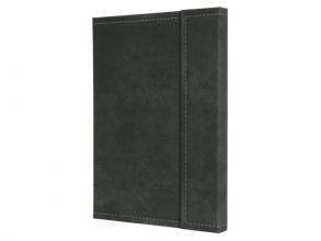 , notitieboek Conceptum 194blz hard Vintage Dark Grey         207x280mm geruit