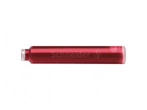 , Inktpatroon Schneider din rood