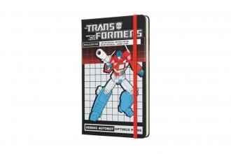 , Moleskine LE Notitieboek Transformers Optimus Prime Large (13x21 cm) Gelinieerd