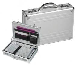 , Attachekoffer Rillstab Maxi aluminium