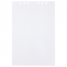 , Tekenpapier MyArtBook A4 150gr 6-gaats 25vel dotted wit