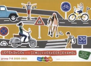 , Oefeningen voor het schoolverkeersexamen groep 7 en 8 2020-2021