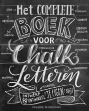 Valerie  McKeehan Het complete boek voor chalk letteren