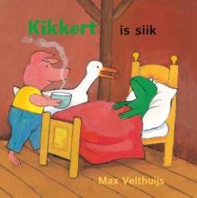 Max  Velthuijs Kikkert is siik