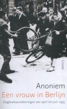 Anoniem Een vrouw in Berlijn