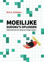 W.H.A. Schilders Moeilijke sudoku`s oplossen