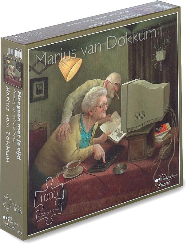 ,Marius van Dokkum - Meegaan met je tijd