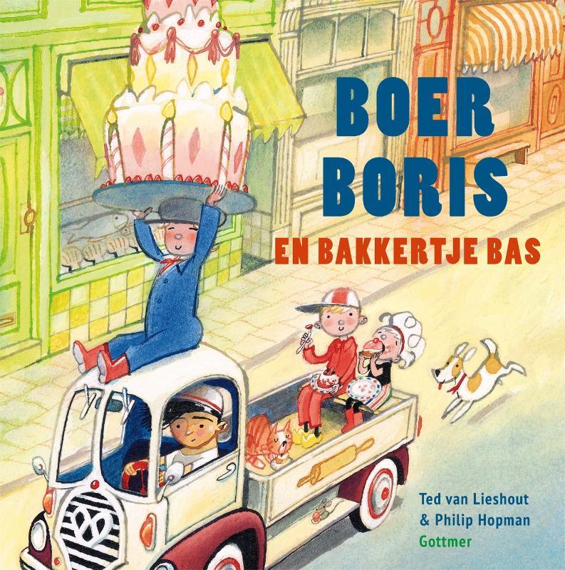 Ted van Lieshout,Boer Boris en bakkertje Bas