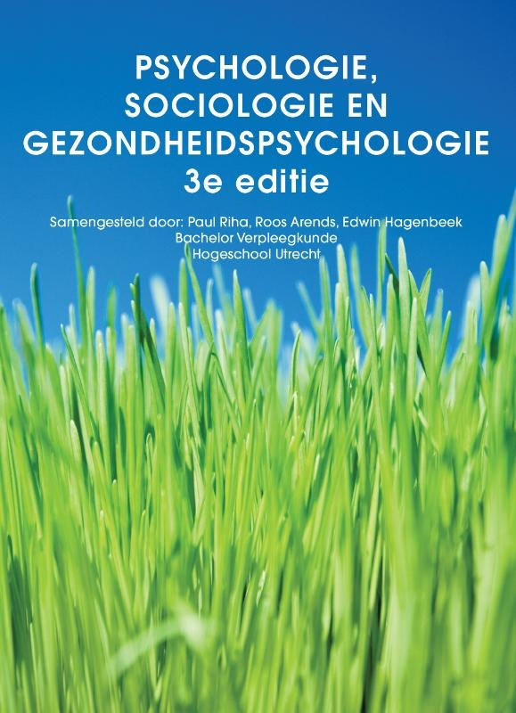 Paul Riha, Roos Arends,Psychologie, sociologie en gezondheidspsychologie, custom editie